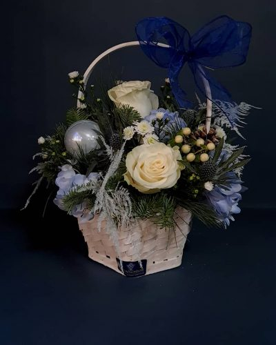 bluechristmas-basket